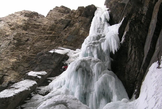 Ice climbing in Canmore Banff and Lake Louise