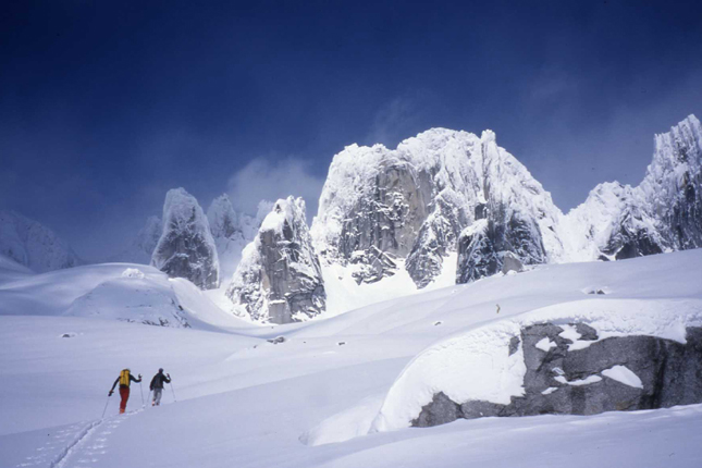 Ski Mountaineering in the Bugaboos.