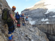 Guided scrambles in the Canadian Rockies